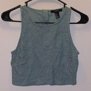 Forever 21 Crop Top SIZE: Medium